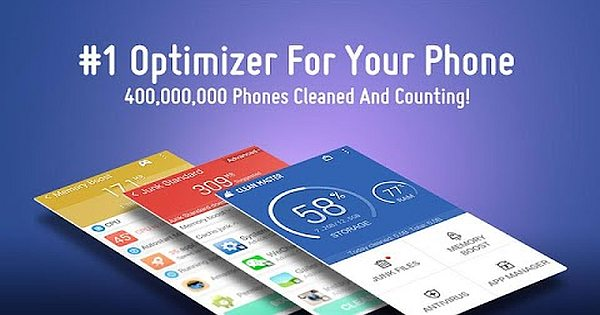 Major features: Clean Master Optimizer